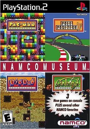 amazon namco museum game プレイステーション2