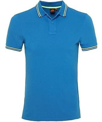 Sundek Hommes pique brice polo shirt Marine L vmEJ9BeM8v