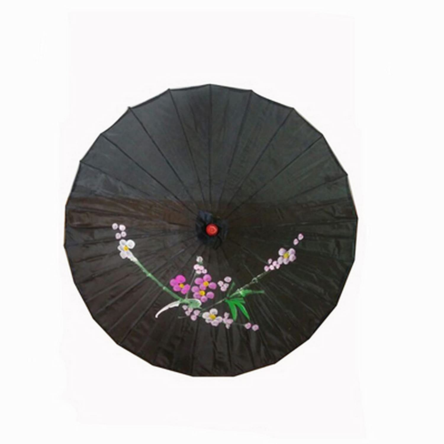 Vintage Style Parasols and Umbrellas JapanBargain Chinese Oriental Parasol Kasi Umbrella Black $9.99 AT vintagedancer.com