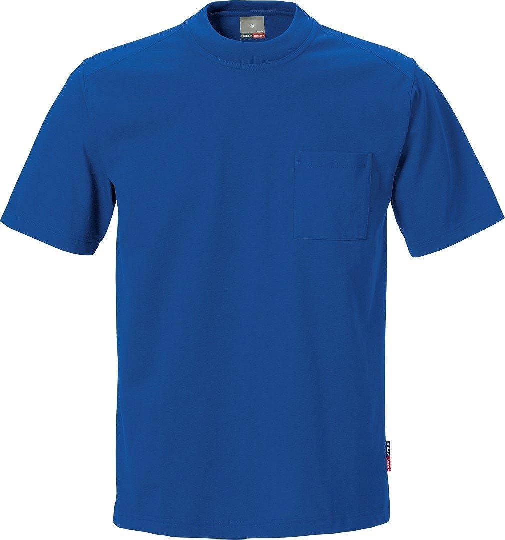 834103 Fristads Kansas Match Herren Tee Blue 2
