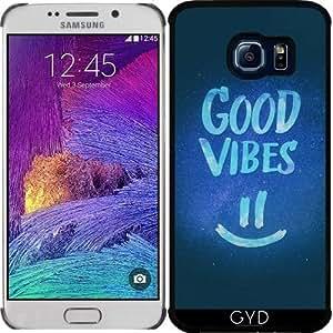 Funda para Samsung Galaxy S6 EDGE (SM-G925) - Buen Rollo - Stat Sonriente Divertida by badbugs_art