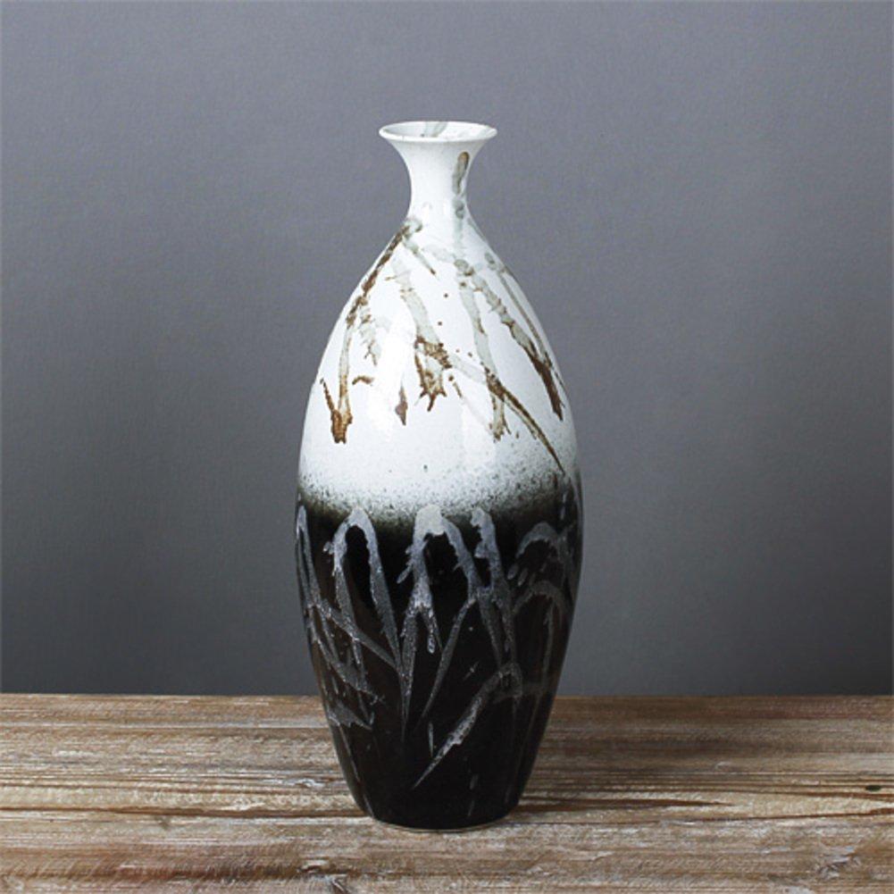 Tung Chi Vase STORE Die schwarzen und weißen handbemalte ...