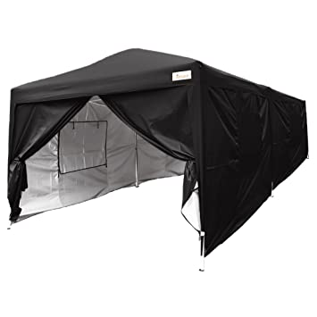 Kingbird 20 x 10 ft Easy Pop up Canopy Waterproof Party Tent 6 Removable Walls Mesh  sc 1 st  Amazon.com & Amazon.com : Kingbird 20 x 10 ft Easy Pop up Canopy Waterproof ...