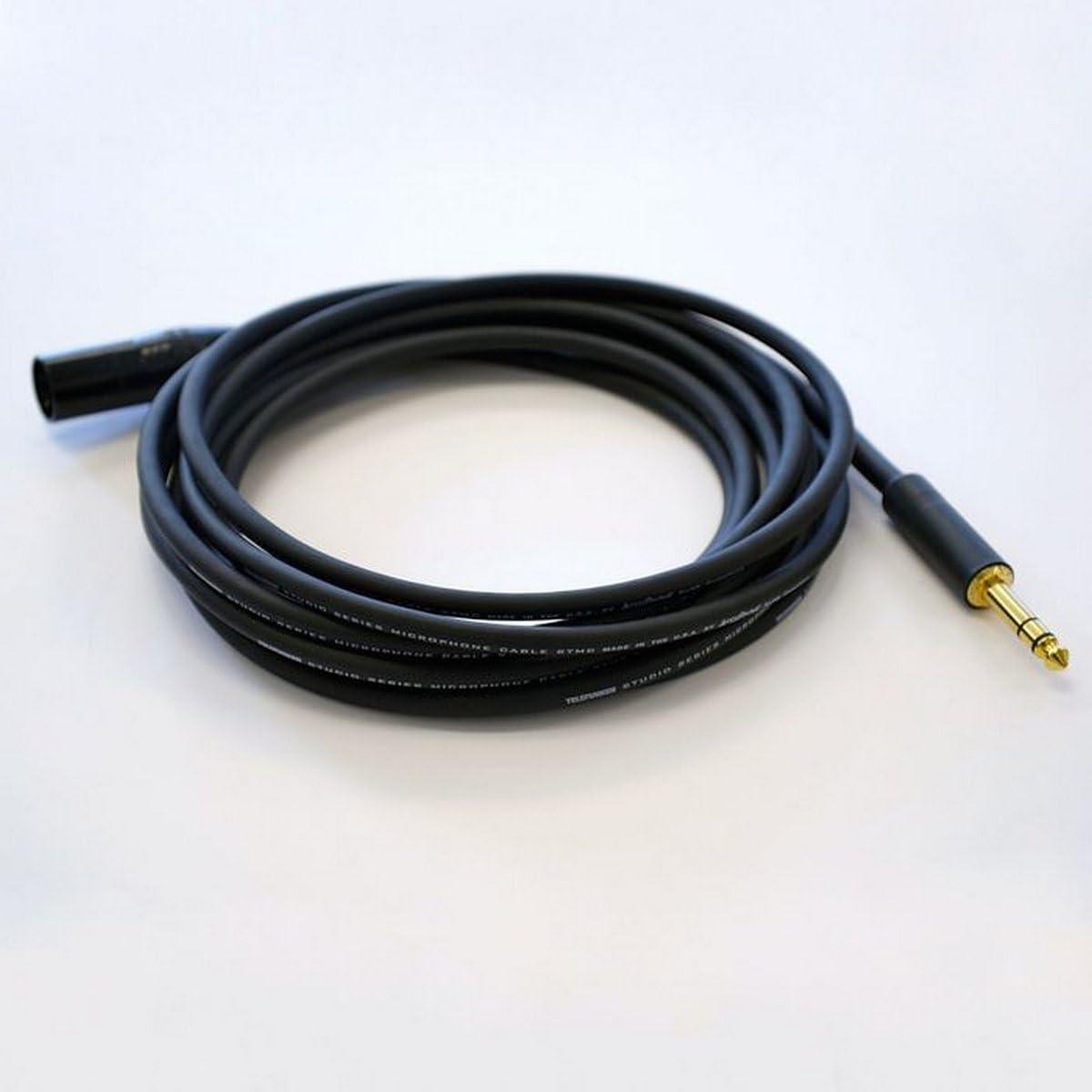 TELEFUNKEN Elektroakustik STMC-15TXM 15 Feet TRS to Male XLR Cable