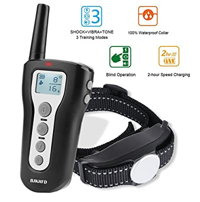 1000Ft Range Remote Dog Training Collar