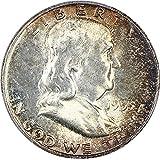 1955 P Franklin Halves Half Dollar MS64 PCGS FBL