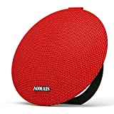 AOMAIS Ball Bluetooth Speakers,Wireless Portable Bluetooth 4.2 ,15W Superior Sound with DSP,Stereo Pairing for Surround Sound,Waterproof Rating IPX7,For Sports,Travel,Shower,Beach,Party(Red)