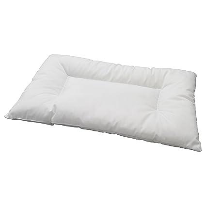 Federe Cuscini Letto Ikea.Len Ikea Cuscino Per Culla O Letto Colore Bianco Amazon