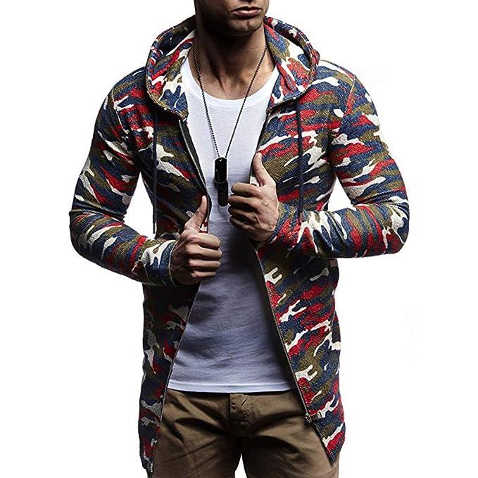 Juleya Sudadera con Capucha Hombres Camuflaje Impresión Hip Hop Sudadera Moda Hombres Sudaderas con Capucha Pullover Hombre Sudadera con Capucha: Amazon.es: ...