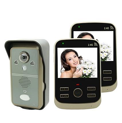 MTTLS Sistema De Intercomunicación Inalámbrico del Timbre del Teléfono Sistema De Intercomunicación del Timbre del Timbre