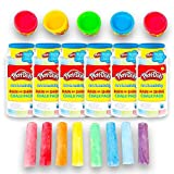 Play-Doh Party Favors Set for Toddlers Kids -- 6 Individually Wrapped Dough, Coloring and Crayons Packs Party Supplies
