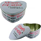 Really Good Bright side Mummy's Favourites Heart Shaped Tin Gift