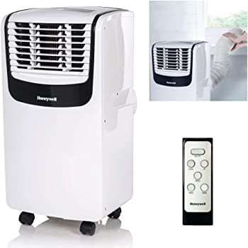 4. Honeywell Portable Air Conditioner with Dehumidifier and Fan (MO08CESWK)