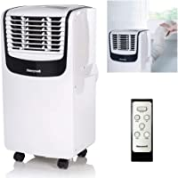 Honeywell MO08CESWK Compact Portable Air Conditioner with Dehumidifier and Fan for Rooms Upto 350 Sq. Ft. With Remote Control (Black/White)