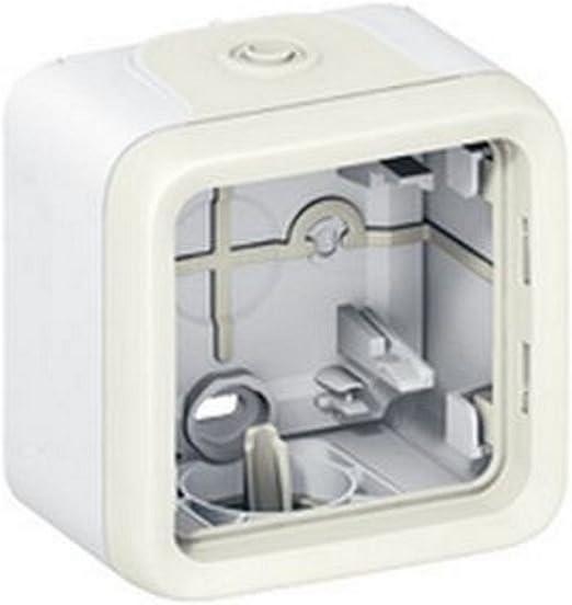 blanco plexo ii comp Ref 6565130159 Legrand 069689 caja saliente 1 mec