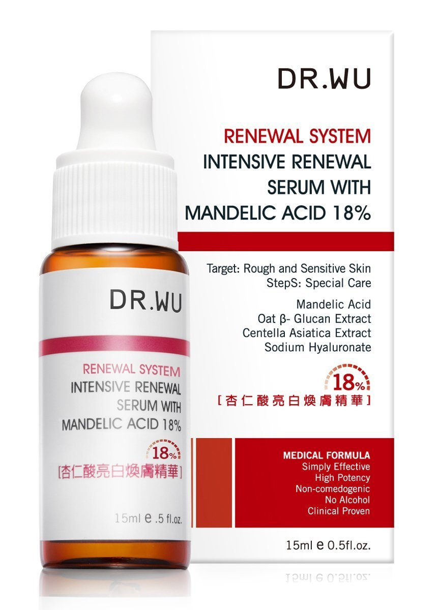 Dr.Wu Special Treatment Intensive Renewal Serum with Mandelic Acid 18% 15ml Dr. Wu 4712052501942