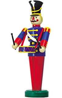 large life size soldier playing a drum outdoor christmas decorations ds 55 10031 - Large Life Size Toy Soldier Christmas Outdoor Decorations