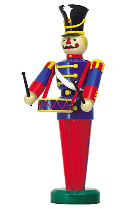 large life size soldier playing a drum outdoor christmas decorations ds 55 10031 - Life Size Nutcracker Outdoor Christmas Decorations