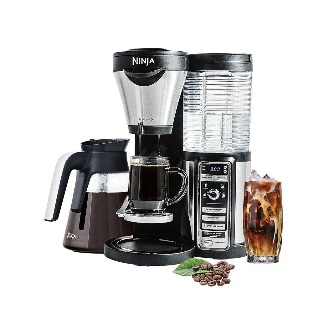 Amazon.com: Ninja Coffee Bar With Glass Carafe Cf081 ...