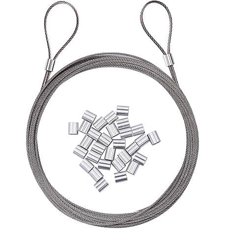 Cerixo - Cordón de acero inoxidable: Amazon.es: Bricolaje y ...