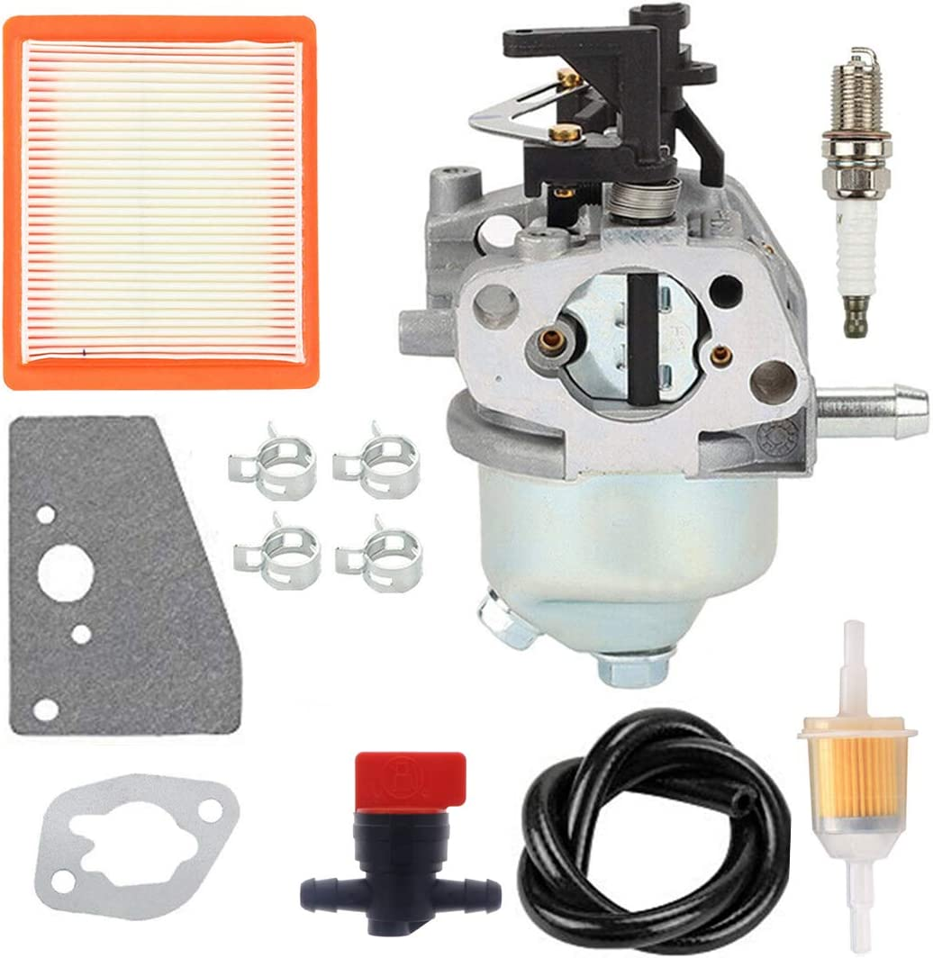 ANTO 14 853 68-S Carburetor for Kohler XT650 XT675 XT6.5 XT6.75 Toro Lawn Mower Engines Carb with 14 083 15-S Air Filter Tune Up Kit