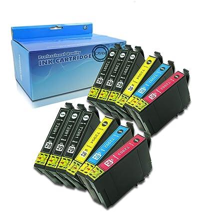 Caidi - 12 cartuchos de tinta Epson 29 XL compatibles con ...