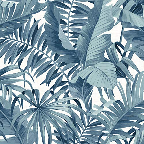 - NuWallpaper NUS3148 Blue Maui Peel & Stick Peel and Stick Wallpaper,