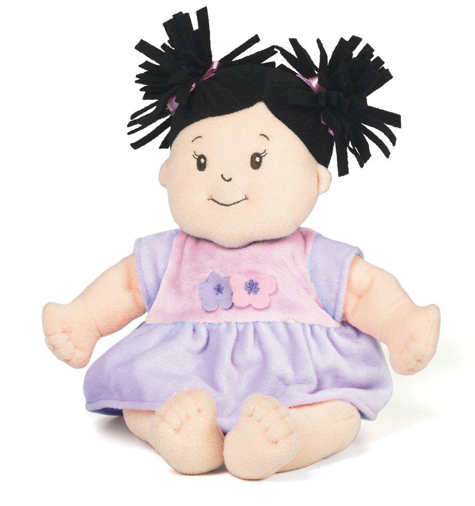 Manhattan Toy 122400 - Baby-Stella Puppe mit schwarzes Haar