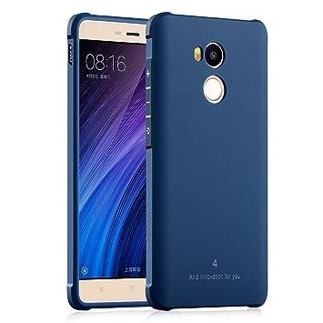 Hevaka Blade Xiaomi Redmi 4 Pro Funda - TPU Carcasa Smart Case Cover Para Xiaomi Redmi 4 Pro - Azul