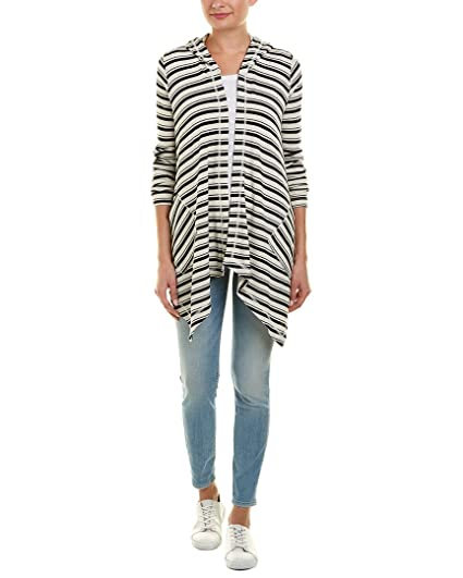 1ded70ae1a14 Amazon.com: Splendid Women's Long Sleeve Cardigan, Navy Stripe, XS ...