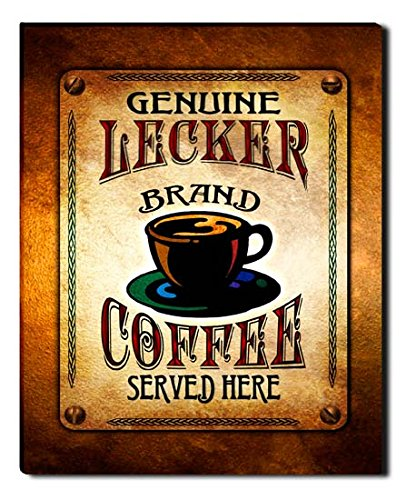 lecker-brand-coffee-gallery-wrapped-canvas-print