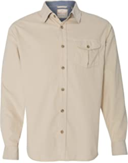 e7da64d9 Bii Free Men's Corduroy Shirt Long Sleeve Slim Fit 100% Cotton ...
