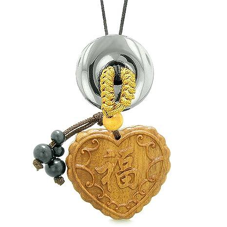 Amazon.com: Fortune Corazón Magic Encanto Del Coche o Home ...