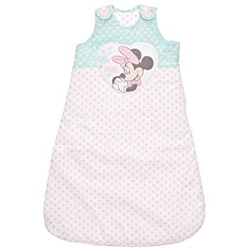 Disney Minnie Mouse saco de dormir (6 - 18 meses), color rosa: Amazon.es: Bebé