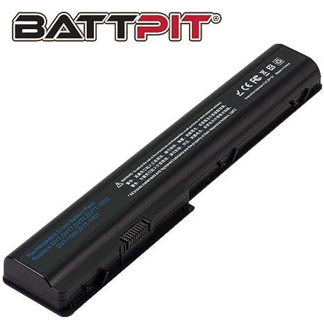 Battpit Recambio de Bateria para Ordenador Portátil HP Pavilion dv7-3160es (4400mah)