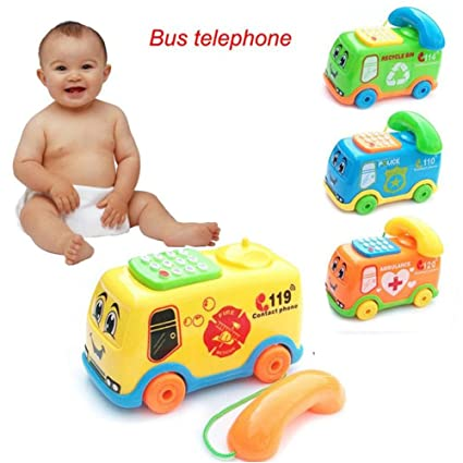 Kids Cell Phone Educational Toys For Toddlers Boys Girls Baby Best Developmental