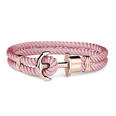 Paul Hewitt Femme Or rose Bracelet en corde , PH,PH,N,R,A,L