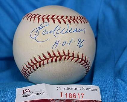 9932734af69 Autographed Earl Weaver Baseball - HOF 96 COA AMERICAN LEAGUE - JSA  Certified - Autographed Baseballs