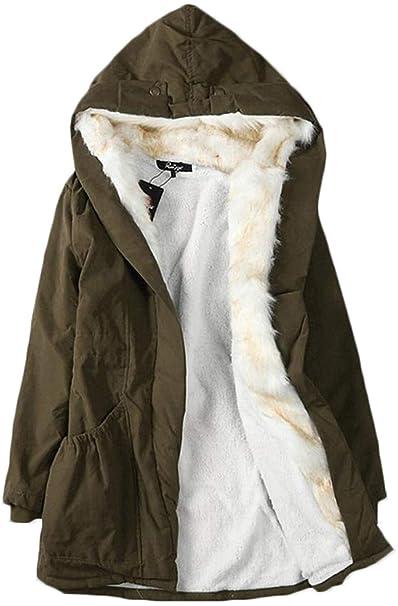 san francisco a6f3f cf981 Cappotti Donna Invernali Addensare Caldo Outwear Ragazza ...