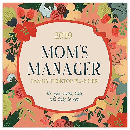 2019 Mom's Manager Daily Desk Calendar