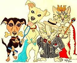 Pet Portrait, Dog Picture, Pet Caricature, Custom Dog Portrait, Dog Caricature, Custom Pet Portrait