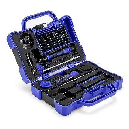 41 en 1 Juego de Destornilladores Precisión Electronica Caja Herramientas de Precision Magnéticos, Cookjoy Kit Herramientas Movil Reparación Teléfono, ...
