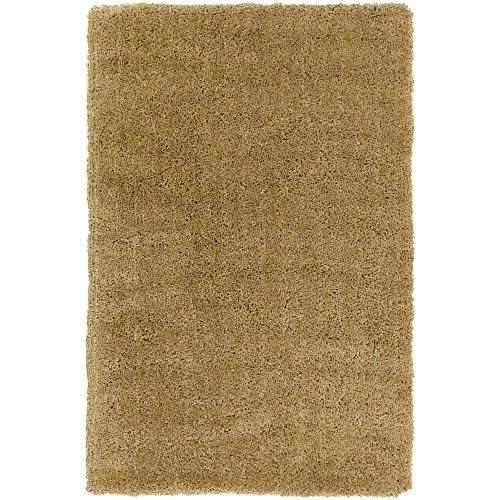 (Surya Goddess GDS-7504 Shag Hand Woven 100% Polyester Caramel 2' x 3' Accent Rug)