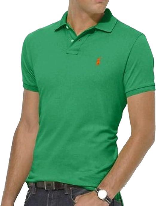 Polo Ralph Lauren - Camiseta de Manga Corta - para niño Verde ...
