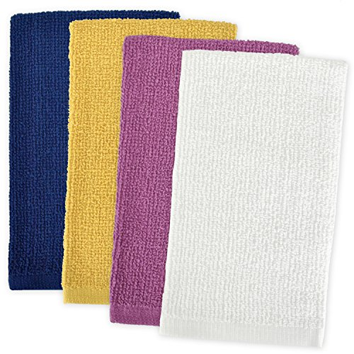DII 100% Cotton, Machine Washable, Ultra Absorbent,