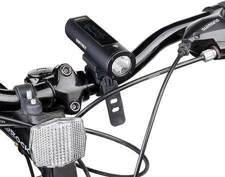 Enfitnix - Luz delantera LED inteligente para bicicleta con ...