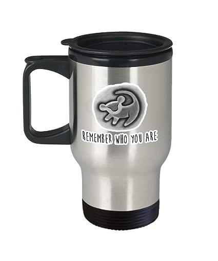 Amazoncom Remember Who You Are Lion King Coffee Mug Cup Travel