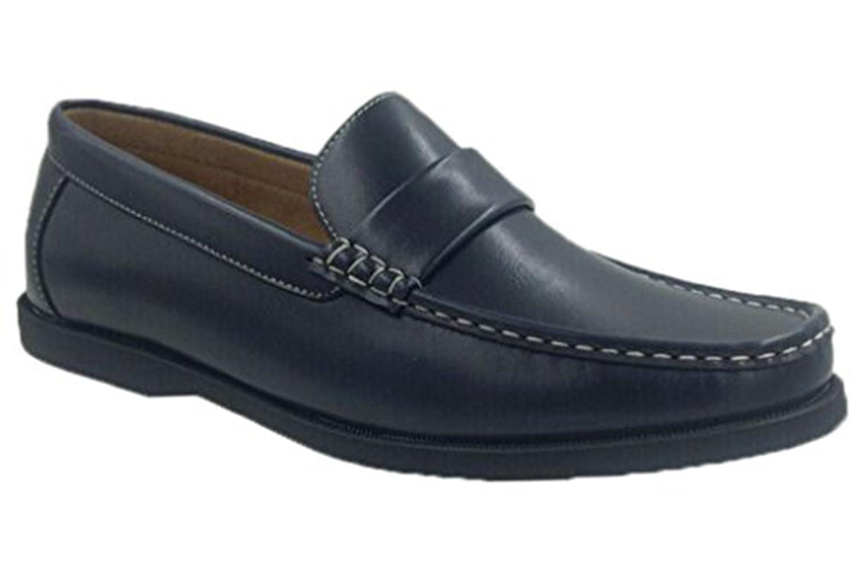 Amazon.com | Andrew Fezza AF-1966 FBM SAM Mens Slip-On Versatile Loafer Shoes | Loafers & Slip-Ons
