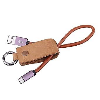 Portátil Usb De Cable 30 cm 2,1 A Llavero USB cable de carga ...