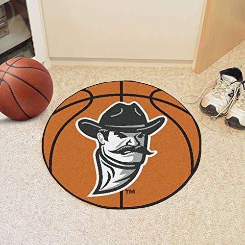 New Mexico Basketball Rug (Basketball Floor Mat - New Mexico State University)